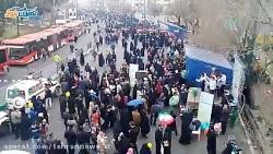 راهپیمایی پرشکوه مردم استان تهران در 22 بهمن 1397