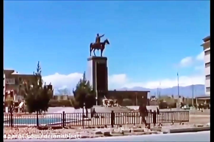 زیبایی حیرت انگیز شهر تهران در 70 سال پیش