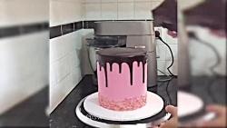 ویدیوی خوشمزه - کیک آرایی - آموزش تزیین کیک بسیار زیبا