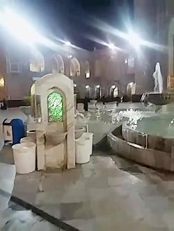 صحن حرم امام رضا