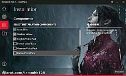 آموزش نصب بازی RESIDENT EVIL 2 نسخه کورپک