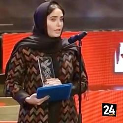 اختتامیه جشنواره فیلم فجر ❤ الناز شاکردوست برنده سیمرغ بلورین بهترین بازیگر