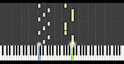 نت پیانو تولدت مبارک + آموزش پیانو تولدت مبارک