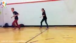 حرکت ورزشی لاین تگ