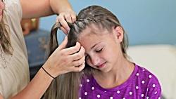 آموزش بافت مو دخترانه - آرایش مو دخترانه بسیار زیبا