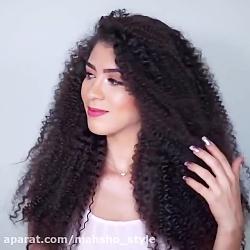 چگونه مو را فر ریز کنیم؟ آموزش فر کردن آفریقایی مو