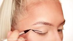 آموزش آرایش کامل چشم در کمتر از یک دقیقه