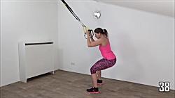 ورزش تی آر ایکس در خانه - ورزش کششی trx برای مبتدیان