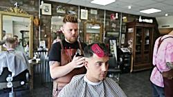 آموزش سایه کاری مردانه جدید آموزش آرایشگری مردانه
