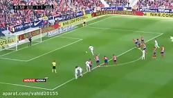خلاصه بازی اتلتیکو مادرید 1_3 رئال مادرید (هفتۀ بیست وسوم لالیگا اسپانیا)