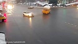 مجموعه تصادفات فجیع رانندگی در خیابان
