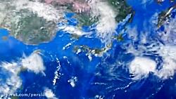 پیش نمایش ویدئویی پروژه آماده افترافکت بزرگنمایی نقشه زمین از سیاره