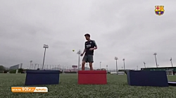 چالش روپایی با توپهای مختلف: سرخی روبرتو