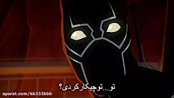 سریال گرداوری انتقام جویان در جستجوی پلنگ سیاه فصل 5 قسمت 7 زیرنویس فارسی