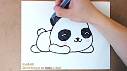 How to Draw Cute BABY PANDA - Step by Step Tutorial
