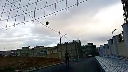 والیبال در خیابان های ش...