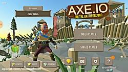بازی موبایل AXE بخش بتل رویال