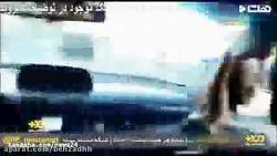 تعقیب و درگیری پلیس با سارق خودرو در تهران -