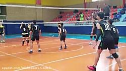 تیم والیبال دبیرستان غ...