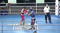 بوکس - مسابقات بوکس مردان آسیا 2017 - 81 کیلوگرم
