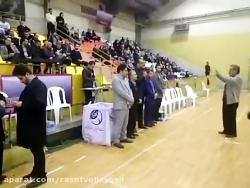 افتتاحیه مسابقات لیگ ز...