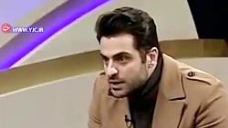 حرکات عجیب مهمان علی ضیاء در برنامه فرمول یک