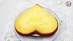 کیک اسفنجی ولنتاین