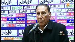 مصاحبه مربیان و بازیکنان پرسپولیس و استقلال خوزستان پس از بازی