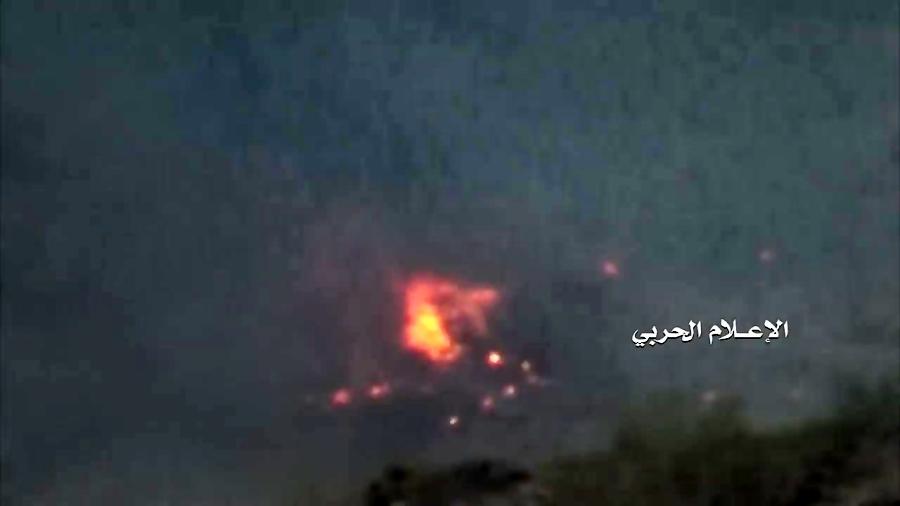 نجران - آتش زدن 3 خودرو زرهی ارتش عربستان در روستای الصوح