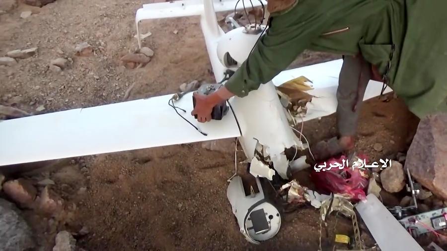 ببینید | گرفتن تقریبا سالم پهپاد جاسوسی ارتش عربستان ساخت آلمان در نجران