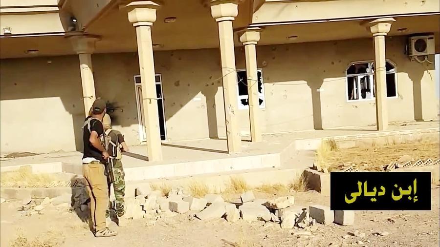 داعشی ابتدا محاصره و سپس تسلیم شد