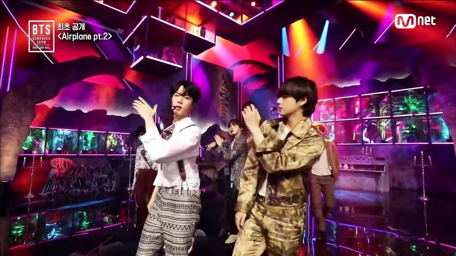 ویدیو موزیک گروه BTS - COMEBACK SHOW