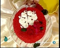 آشپزی: کیک قرمز مخملی - ...