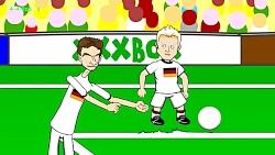 کارتون فینال جام جهانی