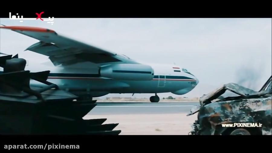 تصویر از فیلم سینمایی به وقت شام ، فرود در تدمر با انتظار کشیدن داعشی ها (۱۴ )