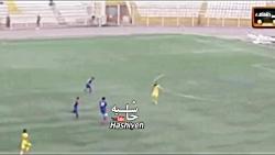 خنده دار ترین گزارشگر تاریخ فوتبال ایران ، گزارش