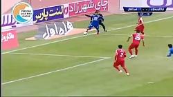 خلاصه بازی تراکتورسازی 1-0 استقلال (لیگ برتر ایران 97 98)