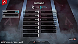 گیم پلی Apex Legends در Ps4 Pro