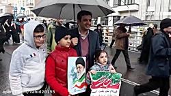 استاد رائفی پور در راهپیمایی 22 بهمن ٩٧