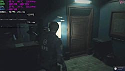 عملکرد بازی Resident Evil 2 Remake بر روی GTX 1060