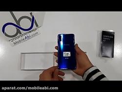 جعبه گشایی گوشی Samsung Galaxy A7 2018 128GB - موبایل آبی