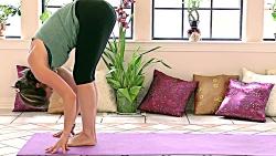 ورزش یوگا در خانه - آموزش تمرینات یوگا ی مبتدیان برای کاهش وزن و کالری سوزی