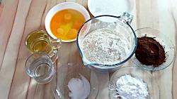 آموزش درست کردن کیک دو رنگ مرمری (کیک شکلاتی دو رنگ) | Zebra Cake