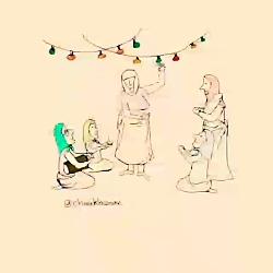 آهنگ مذهبی شاد یک زن