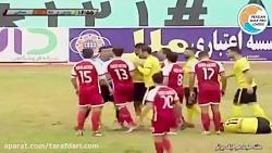 خلاصه بازی پارس جنوبی 3-1 نساجی (لیگ برتر خلیج فارس 97 98)
