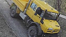نگاهی به قابلیت های خارج از جاده کامیون های جدید مرسدس بنز Unimog و Zetros