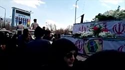 تشییع شهدای حادثه تروریستی سیستان و بلوچستان در اصفهان