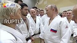 مصدومیت رئیس جمهور روس...