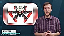 این ربات متحرک بدون GPS مسیریابی می کند
