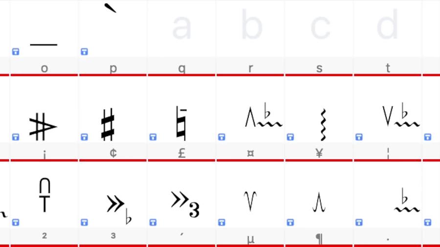دانلود فونتهای موسیقی ایرانی و روش نصب نیما فریدونی